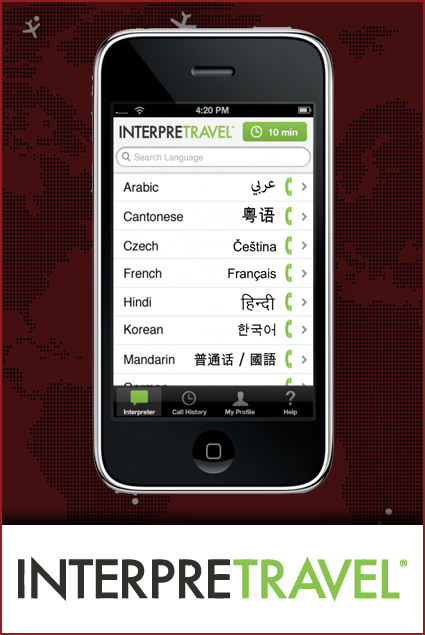 INTERPRETRAVEL - Global communication when traveling