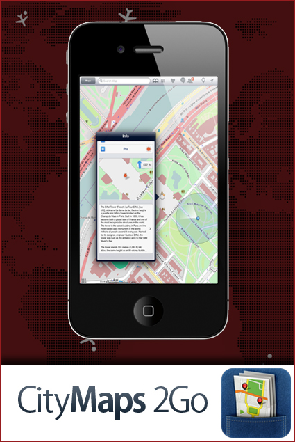 CityMaps 2Go - Mobile apps for smart travelers
