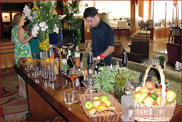 Mixologist at Casa del Mar