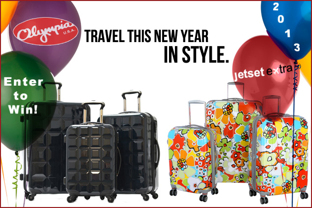 We're Giving Away a Sleek Luggage Set