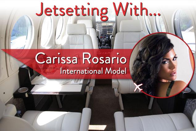 Jetsetting With International Model Carissa Rosario