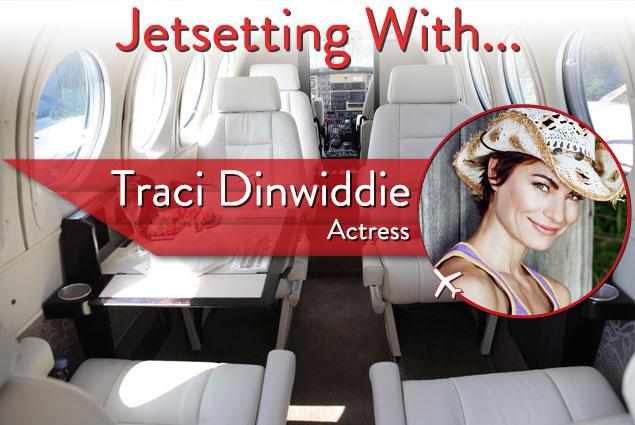 Jetsetting With Award-Winning Actress Traci Dinwiddie