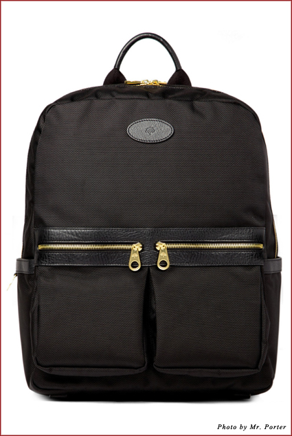 The Mulberry Henry Leather-Trimmed Backpack