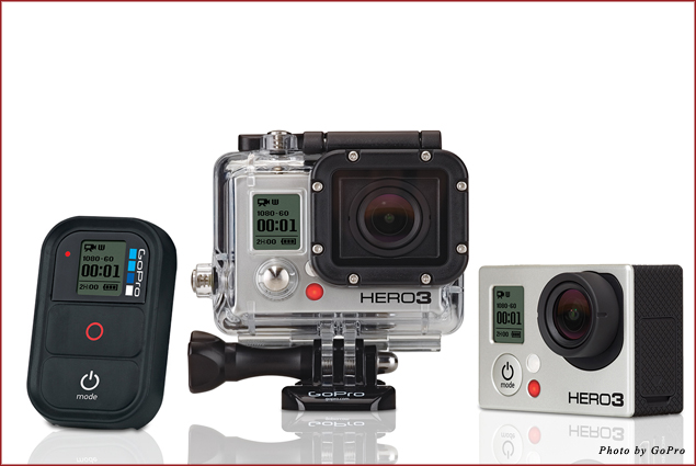 The GoPro HERO3 Black Edition