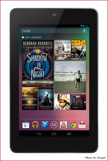 The Nexus 7 Android Tablet from Google