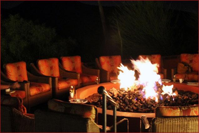 Firepit for marshmallow roasting