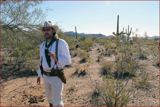 Walker Remington, desert jeep tour guide
