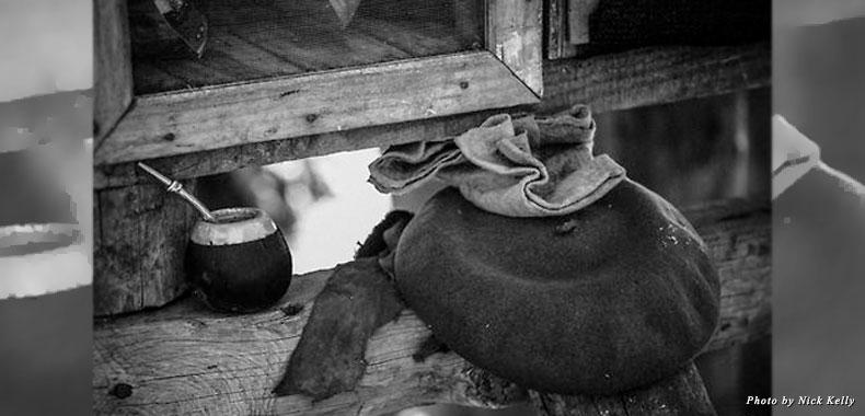 Maté and beret—the gaucho essentials