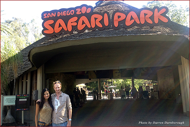 Entering the wilderness at the San Diego Zoo Safari Park