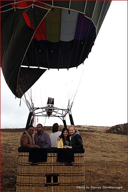 Hot air ballooning in Temecula