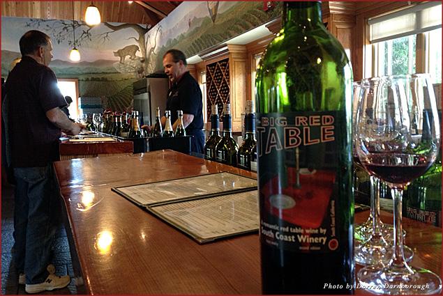 Rejuvenating at South Coast Winery