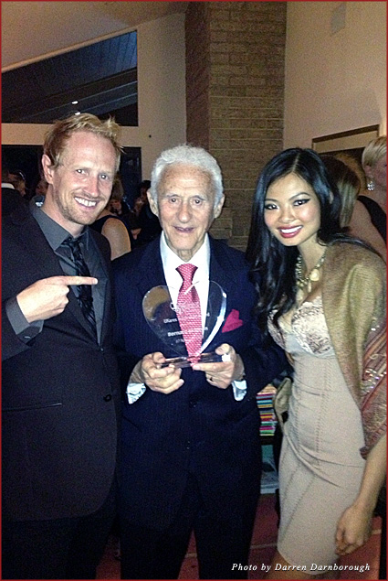 With Bernard Skibben and the first UKares honor