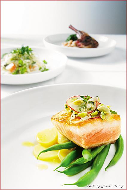 Qantas' Neil Perry tasting menu