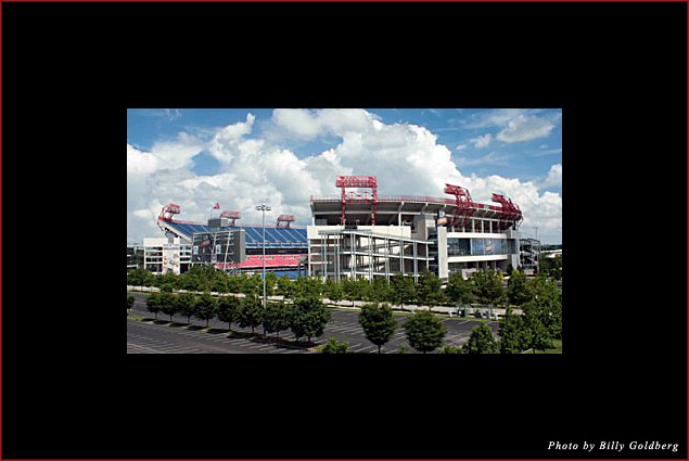 LP Field the home of the NFL's Tennessee Titans