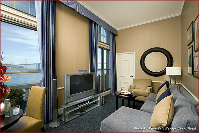 """The """"Chocolate Bliss"""" package includes accommodations at the Harbor Court Hotel"""