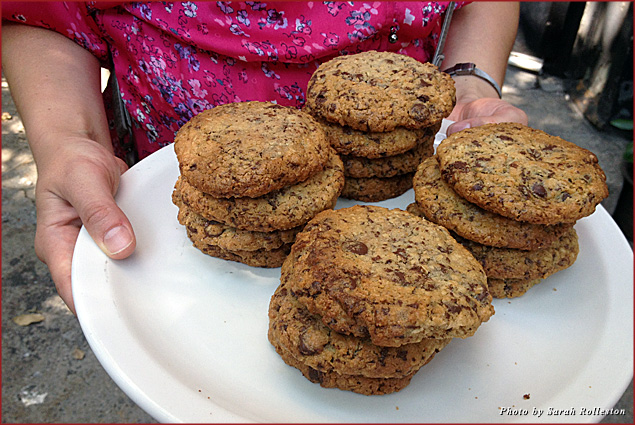 Classic chocolate chip cookies from Schmackary's