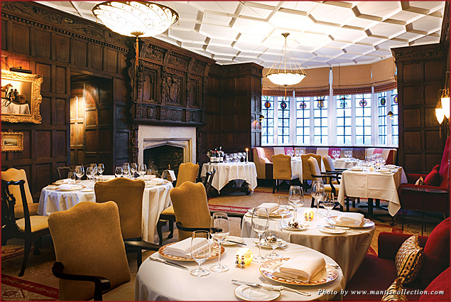 Couples can enjoy a Valentine's aphrodisiac menu in the Beaufort Dining Room at Ellenborough Park