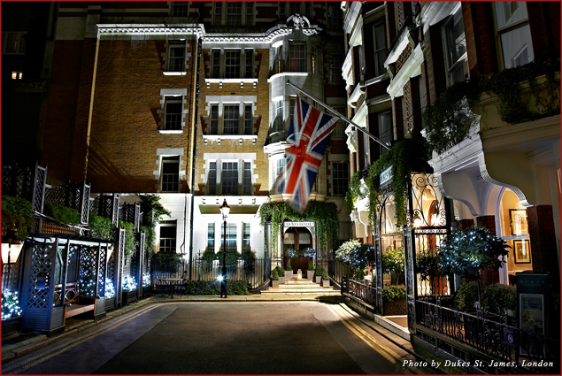 Couples can escape to Dukes St. James, London this Valentine's Day