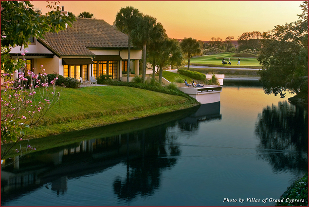 Spend Valentine's Day in a newly renovated, one-bedroom villa at Villas of Grand Cypress