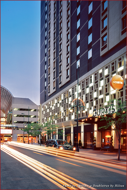 The Curtis Hotel is located in the heart of downtown Denver