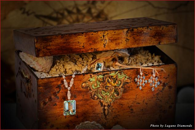 Find $50,000 worth of Lugano Diamonds during a treasure hunt at Villa Harmonie