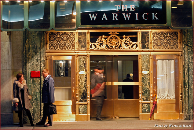 Celebrate Valentine's Day in style at the Warwick Hotel
