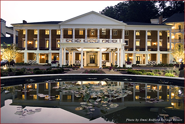 The Omni Bedford Springs Resort hosts a special event for singles ladies this Valentine's Day