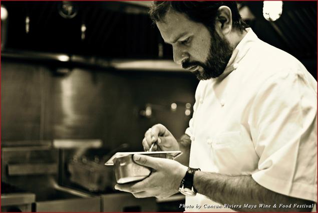 Mexico's star chef Enrique Olvera