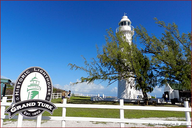 The Grand Turk lighthouse