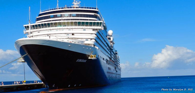 The new MS Eurodam with Holland America Line