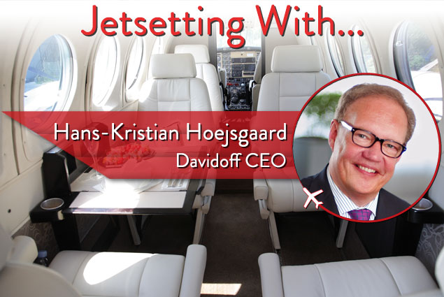 Hans-Kristian Hoejsgaard is president and CEO of the Oettinger Davidoff Group