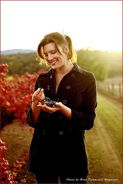 Wine Enthusiast Magazine's executive editor Susan Kostrzewa