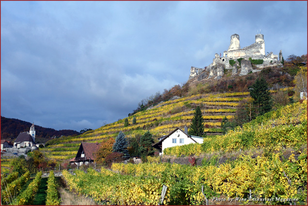 Danube, Austria, is one region on Wine Enthusiast Magazine's list of 10 best wine destinations in 2013