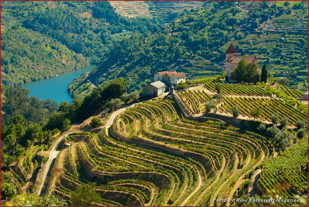 One of the 10 best wine destinations in 2013 is Douro Valley, Portugal