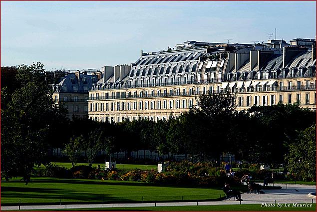 The exterior of Le Meurice in Paris