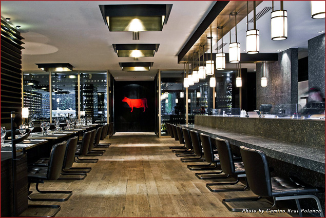 Beefbar serves farm to table beef cooked in special ovens