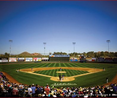 Phoenix Municipal Stadium is one of 10 intimate stadiums in Phoenix's Cactus League