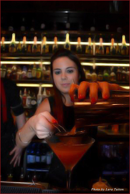 A labour of love: My passion fruit martini at Dirty Martini's cocktail-making class