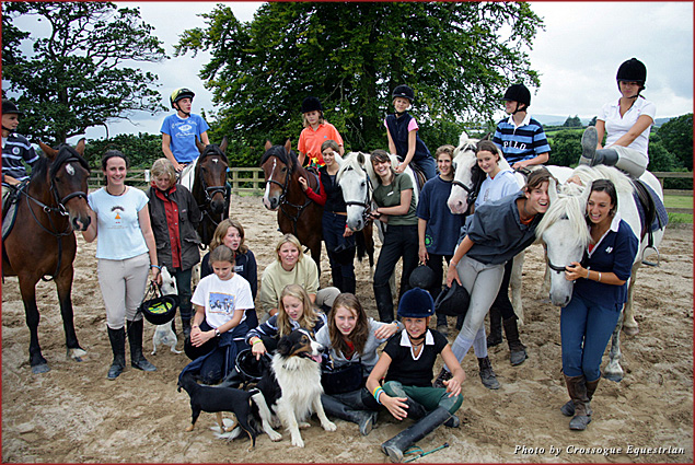 Crossogue is haven for horse-crazy teenagers