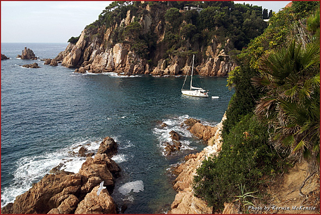 Costa Brava Cove in Spain