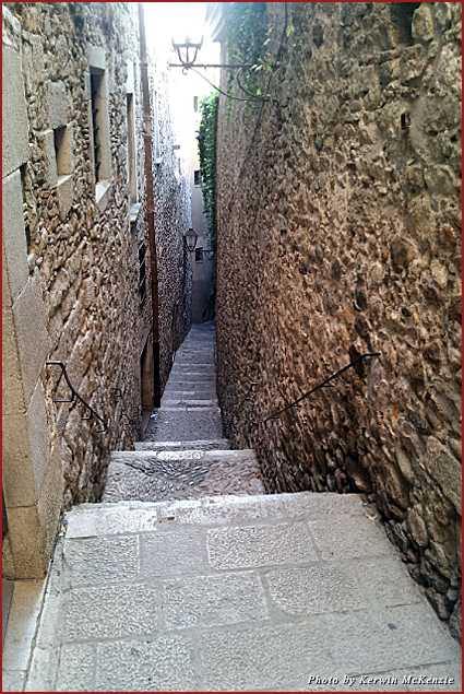 Steps in the Jewish Quarter of Girona
