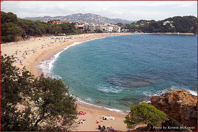 Lloret de Mar on the Costa Brava coast