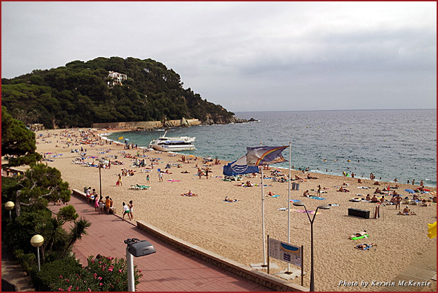 Beaches of Lloret de Mar