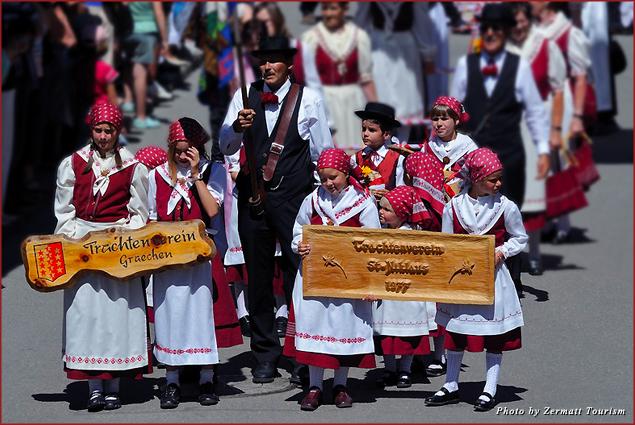 Zermatt Folklore Festival