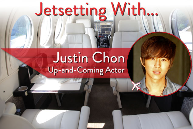 Jetsetting With Up-and-Coming Actor Justin Chon