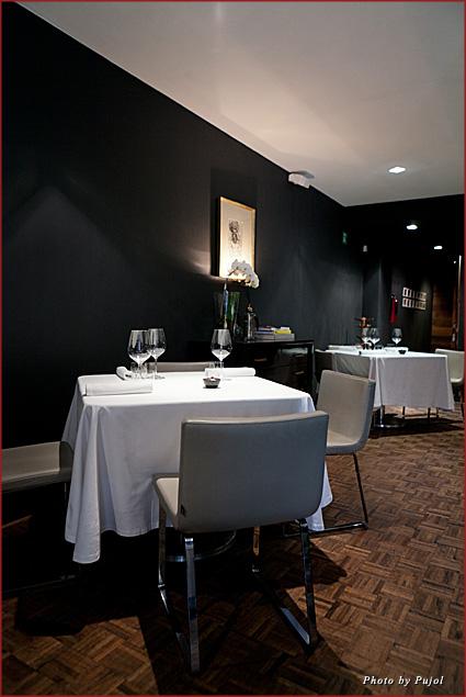 Pujol's minimalist décor puts the focus on the food