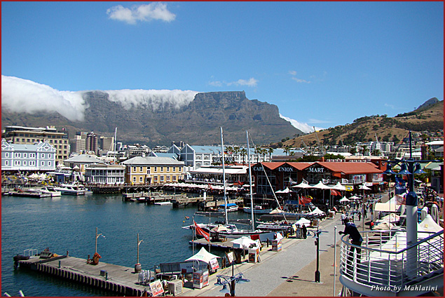 Victoria and Alfred Waterfront in Cape Town, South Africa