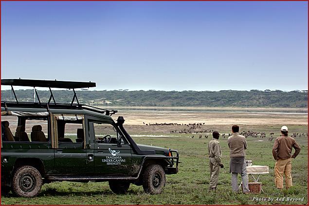 A Serengeti game drive in Tanzania