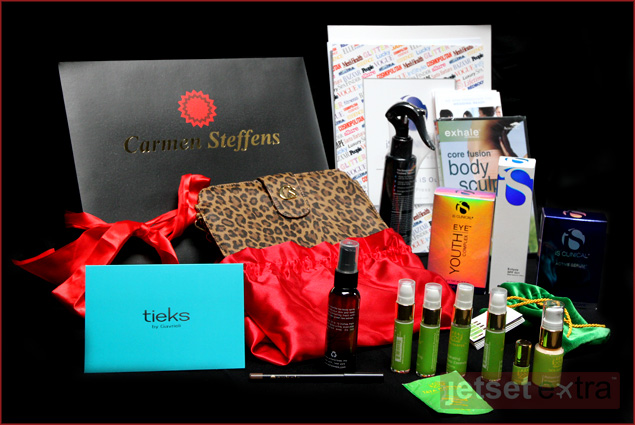 The entire gift bag is valued at more than $400!