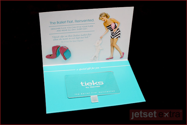 $50 gift card to Tieks by Gavrieli